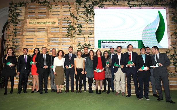 Isabel García Tejerina entrega la II edición de los Premios Emprendeverde
