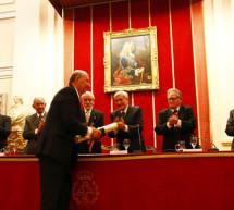 La Fundación Santa María la Real recibe la Medalla de Honor 2014 de la RABASF