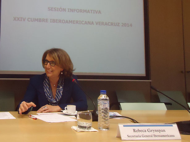 Rebeca Grynspan, Secretaria General Iberoamericana. Foto: © patrimonioactual.com