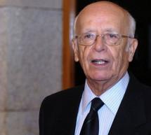 La Asociación de Editores de Madrid ha entregado el XVIII Premio Antonio de Sancha a Emilio Lledó