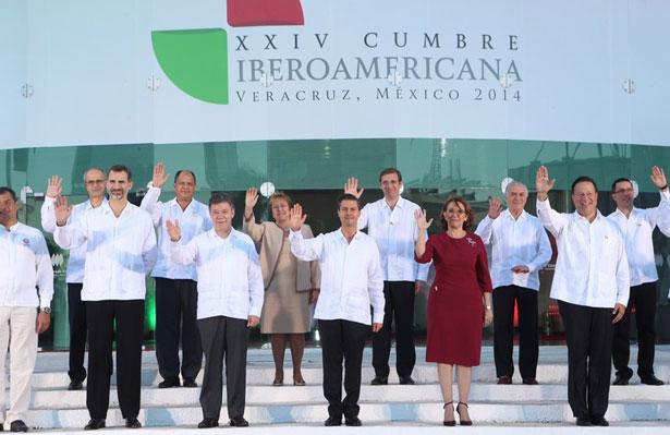 XXIV Cumbre IBEROAMERICANA de Veracruz (México) Foto: ©-Casa de S.M. el Rey