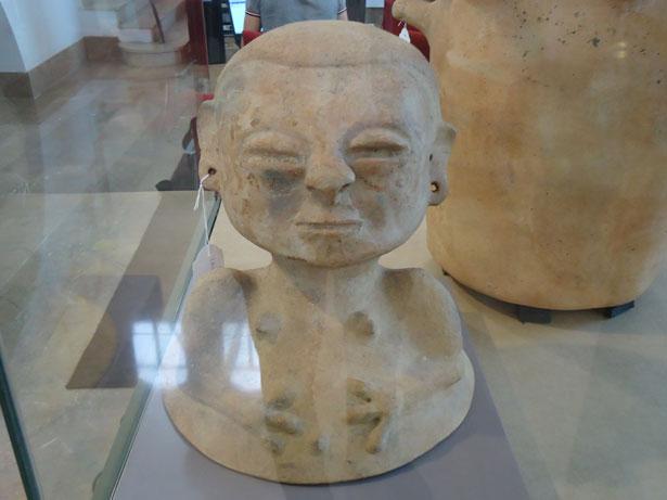 Trafico ilícito de bienes culturales. Pieza devuelta por España a Colombia. Foto: © patrimonioactual.com