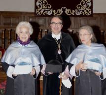 Teresa Berganza y Ana Diosdado, investidas doctoras honoris causa por la Universidad de Alcalá