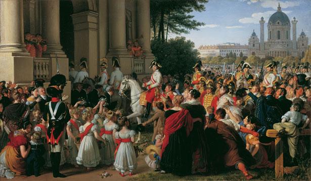 VIENA Museos © Belvedere, detalle del Emperador