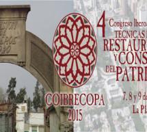 4º Congreso Iberoamericano y XII Jornada Técnicas de Restauración y Conservación del Patrimonio