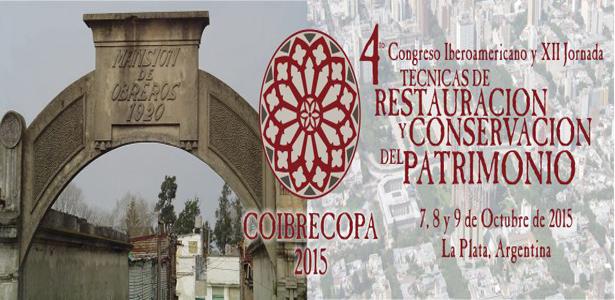 4º Congreso Iberoamericano y XII Jornada de restauración y Conservación del Patrimonio