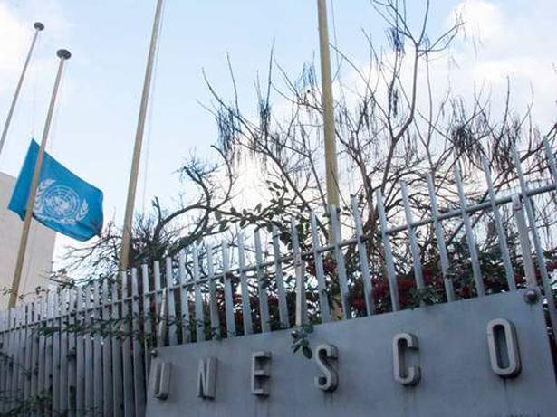 UNESCO-© UNESCO/Pilar Chang-JooUNESCO's, bandera a media asta