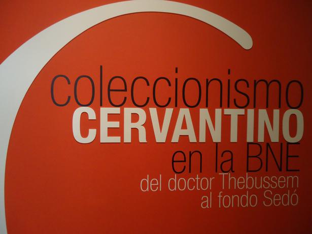 Coleccionismo Cervantino en la BNE. Foto: © patrimonioactual.com