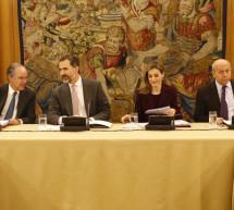 SS.MM los Reyes de España presiden el Patronato del Teatro Real
