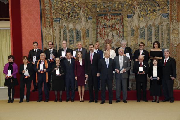 SS.MM. los Reyes de España entregan las Medallas de Oro al Mérito en las Bellas Artes