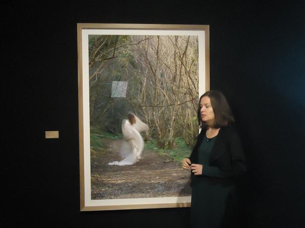 Ouka Leele presenta la exposición, A donde la luz me lleve. Foto: © patrimonioactual.com