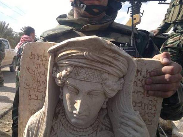 Tráfico ilícito. © UNESCO Palmyra Syria