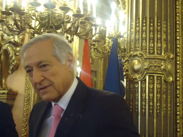 Heraldo Muñoz, ministro de Relaciones Exteriores de Chile. Foto: © patrimonioactual.com