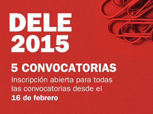 Instituto Cervantes. Convocatorias DELE