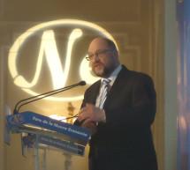 Martin Schulz dice que la mayor amenaza para Europa son la xenofobia, el racismo, el antisemitismo y la intolerancia