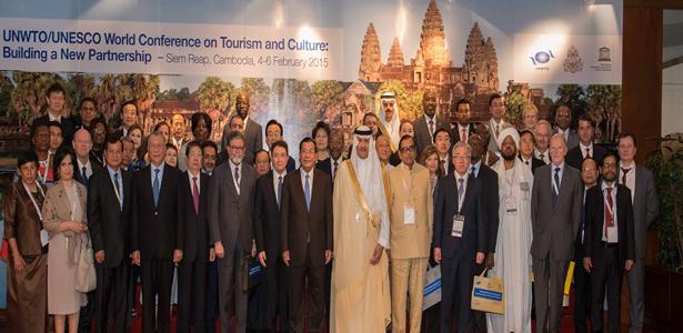 OMT-UNESCO. Reunión sobre Turismo Cultural en Camboya