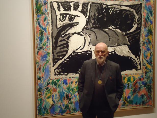 Pierre Alechinsky expone en el CBA. Foto: © patrimonioactual.com