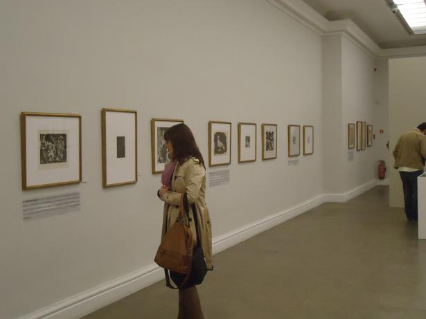 Picasso sale del Museo Reina Sofía para visitar a su amigo Goya en la RABASF