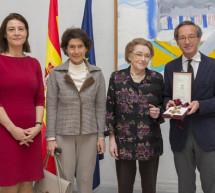 Natalia Shakhovskaya recibe la Encomienda de la Orden Civil de Alfonso X El Sabio