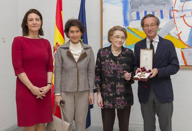 De Izq. a dcha. Montserrat Iglesias, Paloma O´Shea, Natalia Shakhovskaya y José María Lassalle