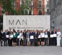 La Reina Doña Sofía, Presidenta de Honor de Hispania Nostra entrega los galardones que reconocen el patrimonio cultural y natural