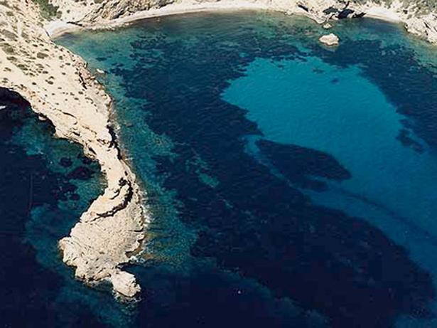 Ibiza, vista de una paya