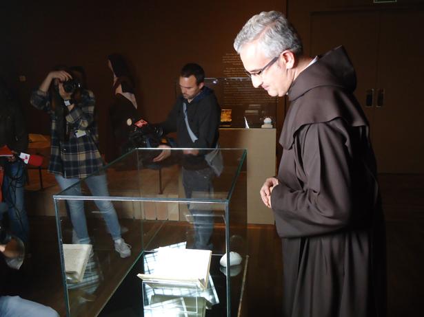 Juan Dobado Fernández, Comisario de la exposición Teresa de Jesús. La prueba de mi verdad. Foto:  © patrimonioactual.com