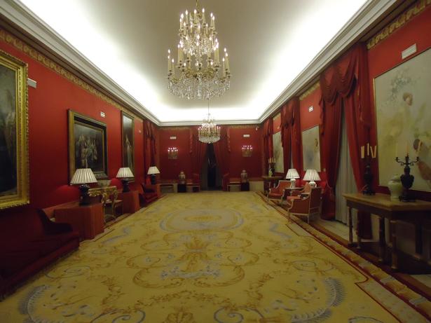 Teatro Real. Uno de los salones. Foto: © patrimonioactual.com