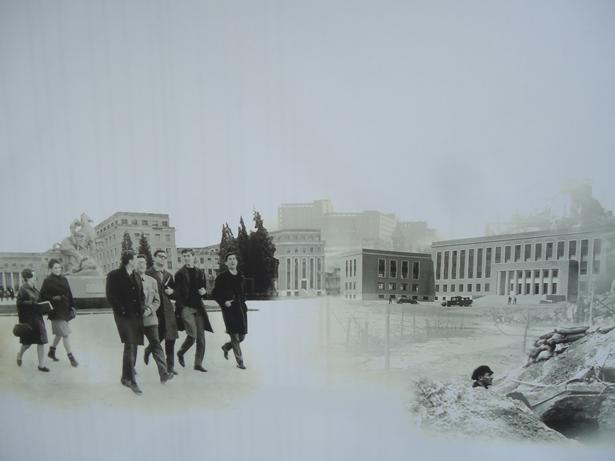 Exposición ´Paisajes de una guerra: la Ciudad Universitaria de Madrid`. Universidad Complutense