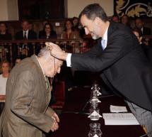 SS.MM. los Reyes de España entregan el Premio Cervantes 2014 a Juan Goytisolo