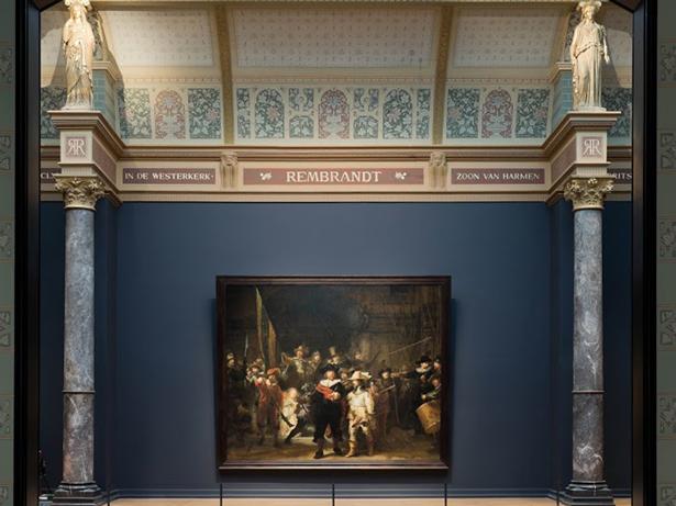 HOLANDA. Museo Rijksmuseum de Ámsterdam