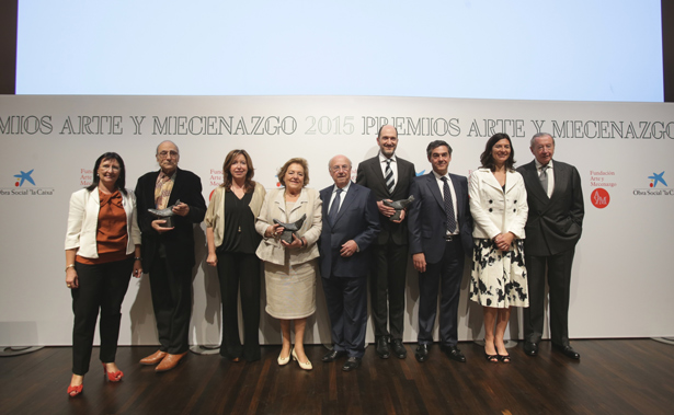 La Fundación Arte y Mecenazgo entrega en CaixaForum Madrid sus premios 2015