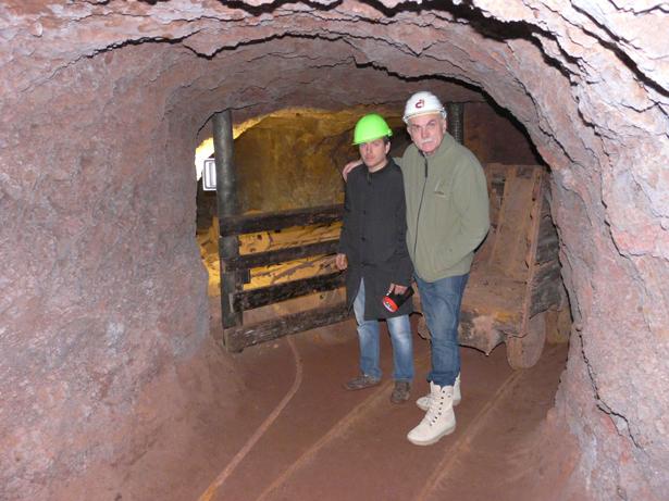 Atapuerca. Eudald Carbonell y Eduardo