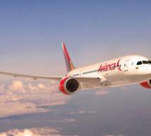 La Compañía colombiana Avianca aterriza en Madrid con nuevos aviones B787-8