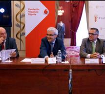 La cultura, la técnica y la solidaridad unidas por el Teatro Real, la Fundación Vodafone y la ONCE