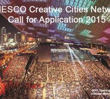 La UNESCO lanza la convocatoria 2015 para presentar candidaturas a la Red de Ciudades Creativas