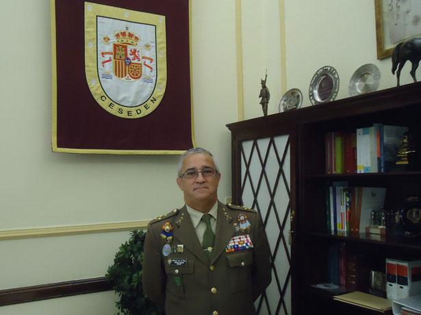 Alfonso de la Rosa, Teniente General Director del CESEDEN. Foto: © patrimonioactual.com