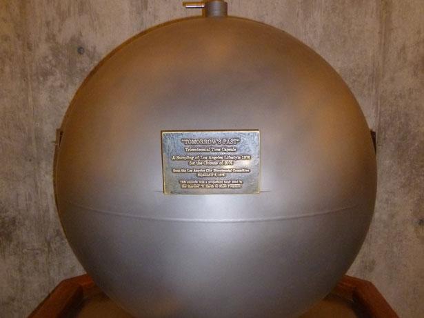 Cápsula del tiempo en el Observatorio Griffith