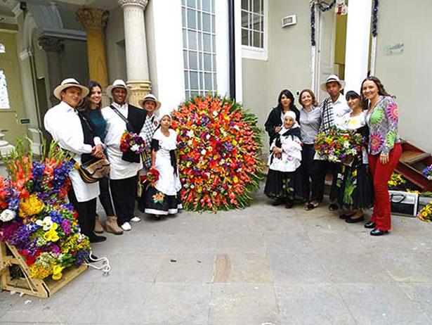 Colombia. Manifestación cultural silletera
