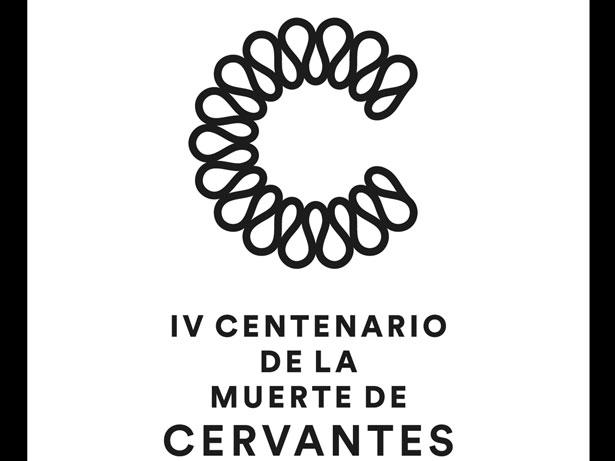 LOGO IV Centenario muerte de Miguel de Cervantes