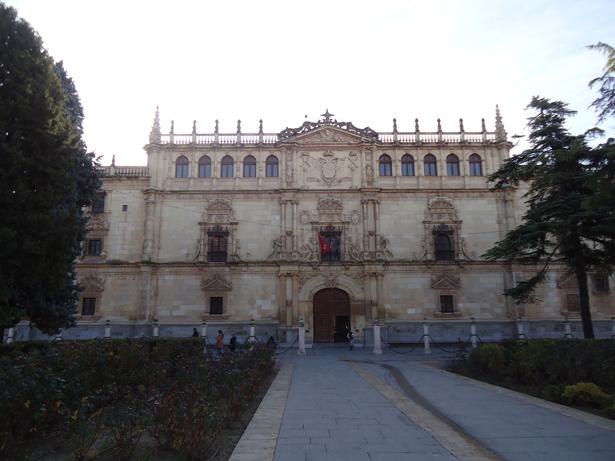 Universidad de Alcalá (UAH). Fachada principal. Foto: © patrimonioactual.com
