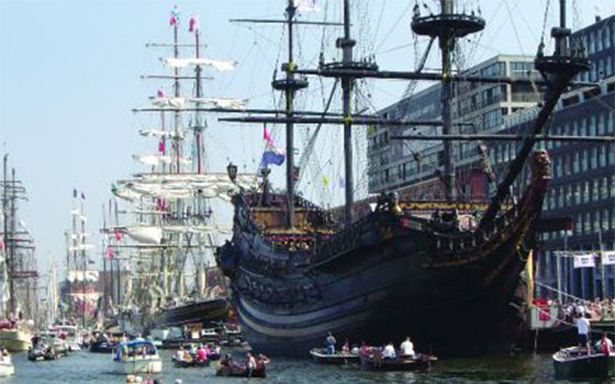 SAIL Ámsterdam, el evento náutico más grande del mundo