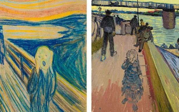 Munch: Van Gogh, la gran exposición del Año Van Gogh en Ámsterdam