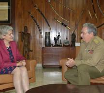 Reunión de la Directora General de la UNESCO con el Presidente de Cuba, Raúl Castro