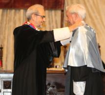 Vargas Llosa investido doctor honoris causa por la Universidad de Salamanca