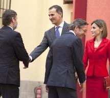 Felipe VI preside junto con Doña Letizia el Patronato del Instituto Cervantes