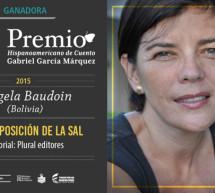 La boliviana Magela Baudoin gana el II Premio Hispanoamericano de Cuento Gabriel García Márquez