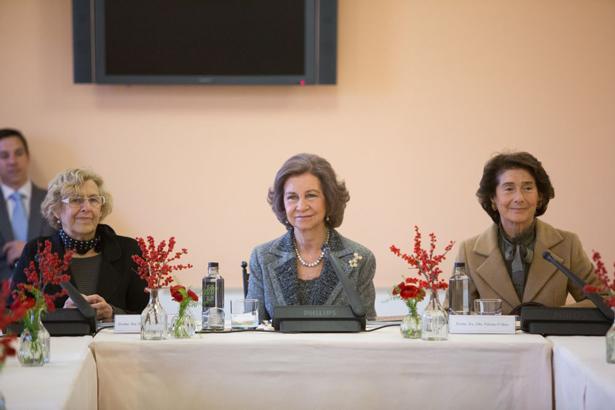 Patronato Fundación Albéniz. Carmana, Doña Sofía y Paloma O´Shea