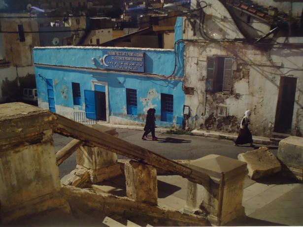 Navia. Exposición Miguel de Cervantes o el deseo de vivir. Foto de Argelia. Orán, barrio de Sidi El Houari