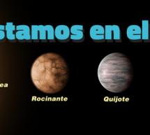 Cervantes ya es una estrella, y los personajes del Quijote, sus planetas